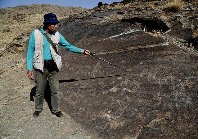 Iranian archeologist. (File)
