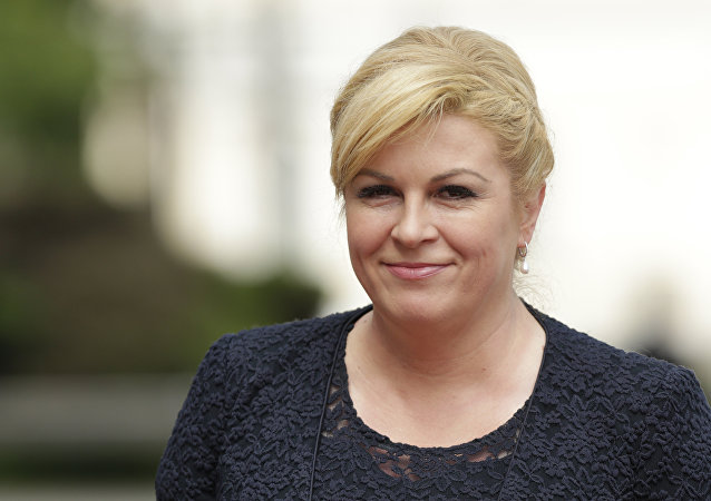 President of the Republic of Croatia Kolinda Grabar Kitarovic