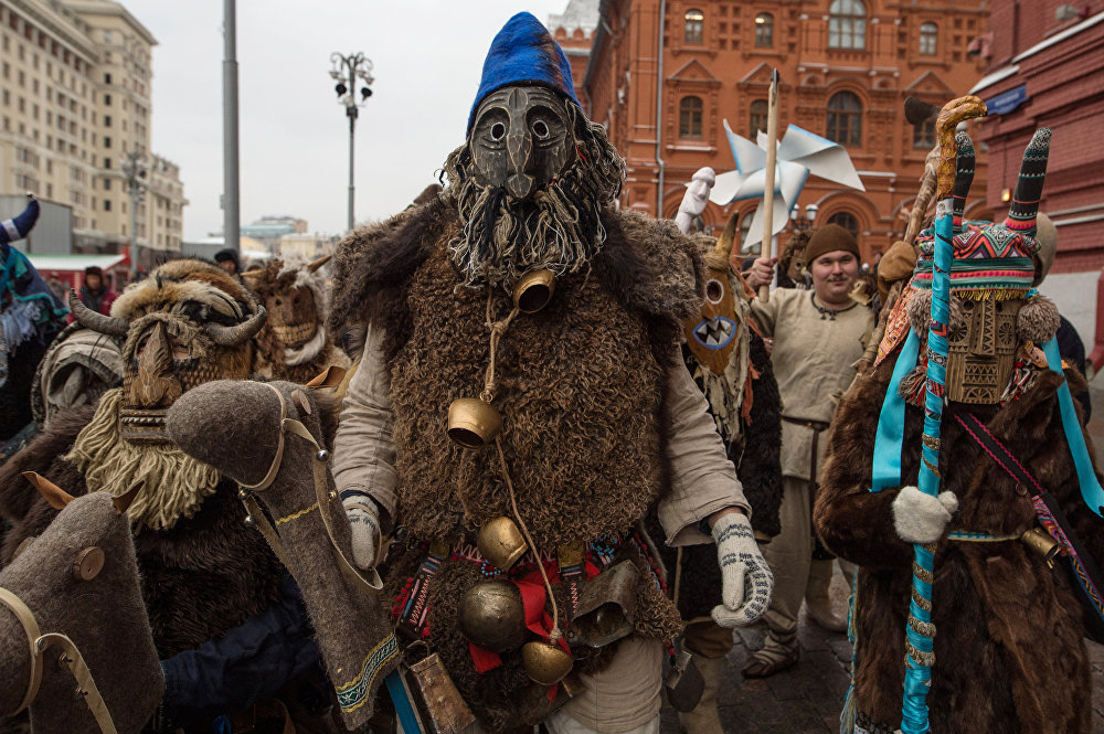 Whirlwind of Fun and Food at Maslenitsa Folk Festivals in Russia
