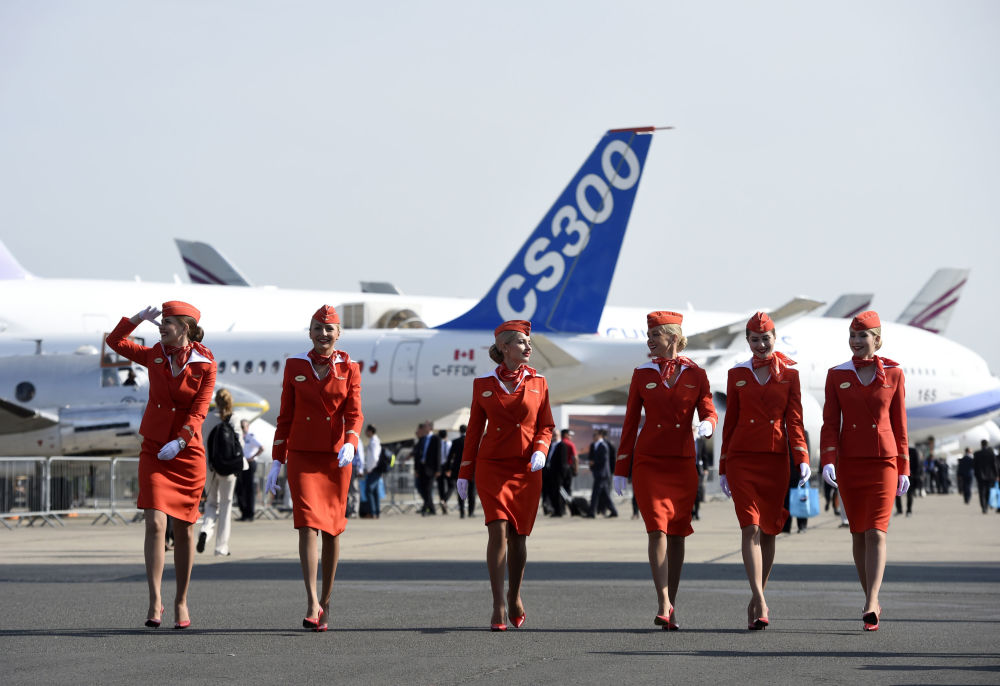 The Gorgeous Stewardesses of Russia's Aeroflot