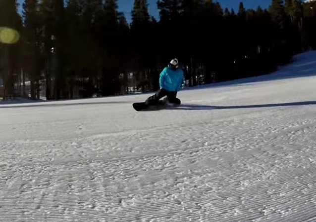 VERY Casual Snowboarding