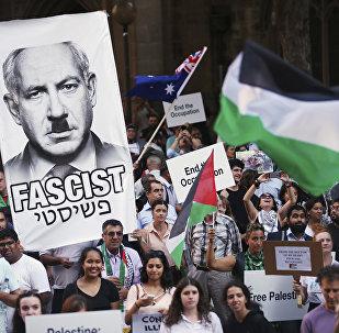 Sydney protests against Israeli Prime Minister Benjamin Netanyahu