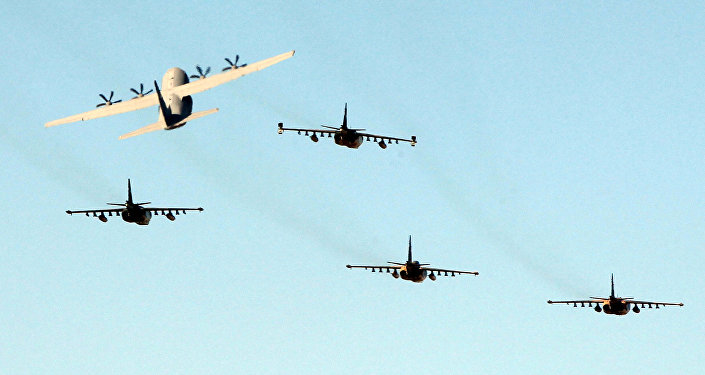 Iraqi military planes. (File)