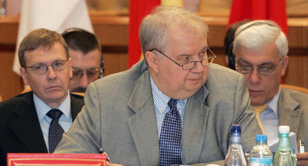 Russia's deputy foreign minister, Sergei Kislyak (File)