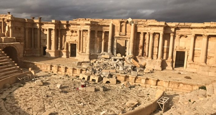 Palmyra liberated.