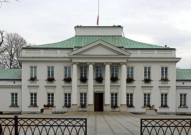 Belweder Palace, Warsaw, Poland