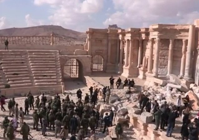 Concert In Palmyra's Ancient Amphitheater