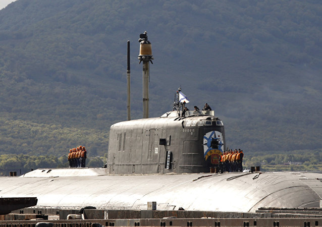 949A Antei project's Tver nuclear-powered submarine