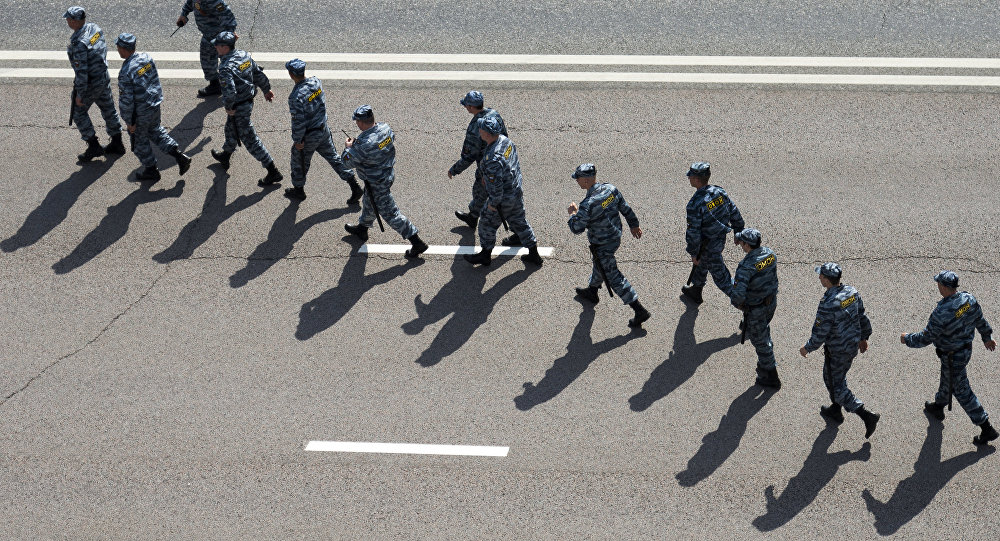 Police in Moscow