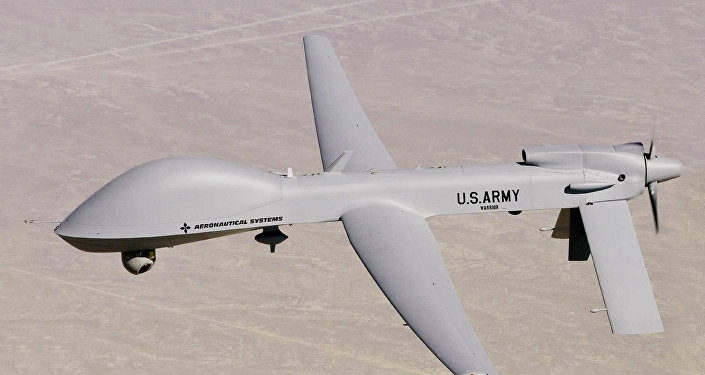 US Army's new MQ-1C Warrior UAV