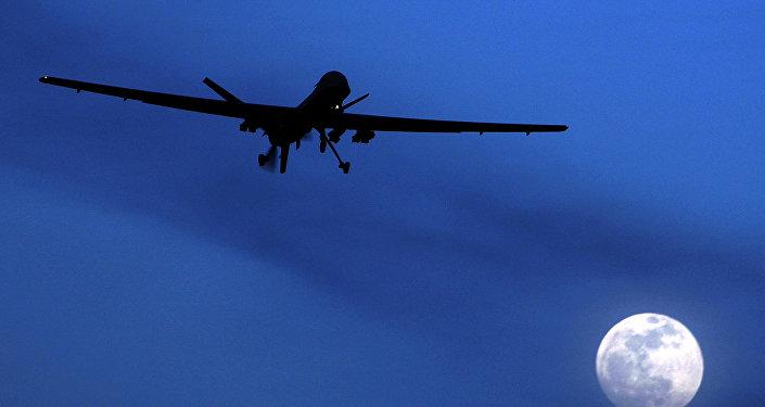 Unmanned US Predator drone. (File)