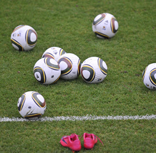 Balls seen on the field. (File)