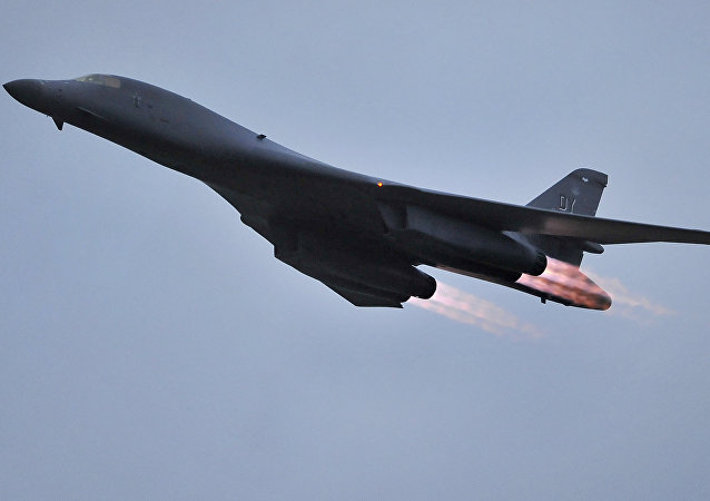 US Air Force B-1B bomber. (File)