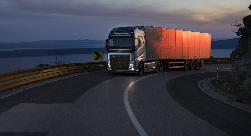 Swedes Wheel Out Driverless Trucks On World S Safest Roads
