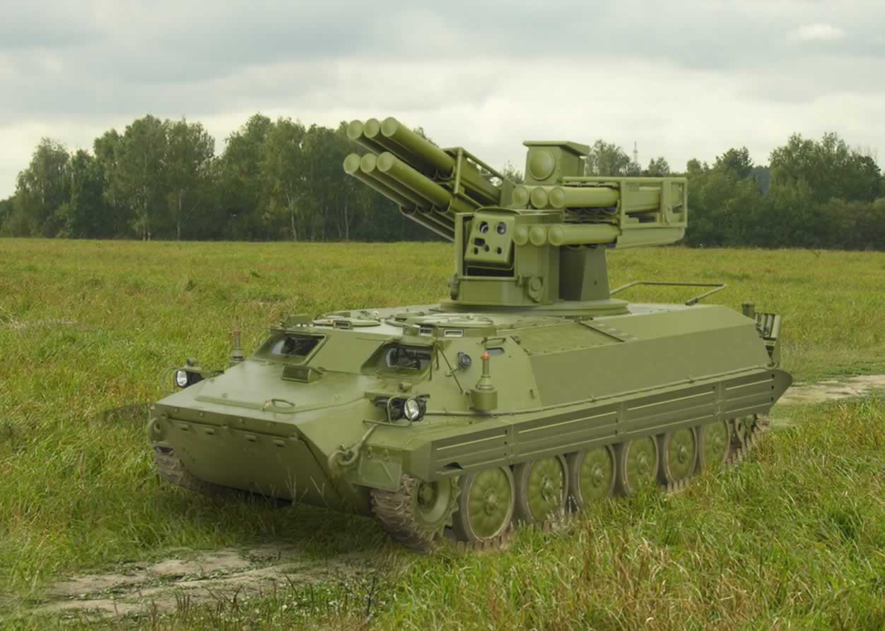 The Sosna air defense system