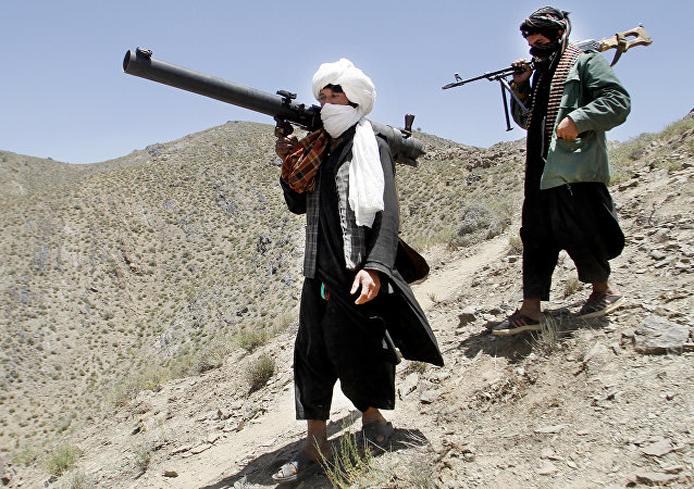 Taliban militants. File photo