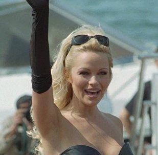 Actress Pamela Anderson, May 20, 1995 file photo