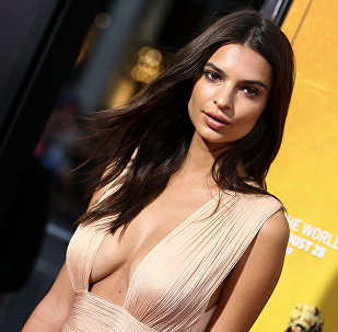 Emily Ratajkowski attends the LA Premiere of We Are Your Friends held at TCL Chinese Theatre on Thursday, Aug. 20, 2015, in Los Angeles.