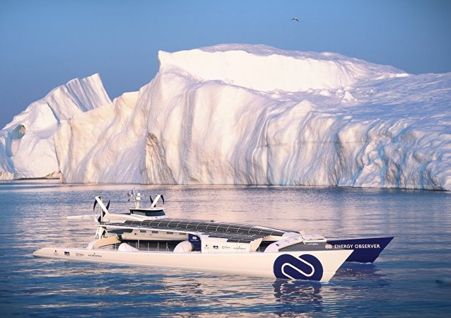 Energy Observer - The Hydrogen Powered Yacht.