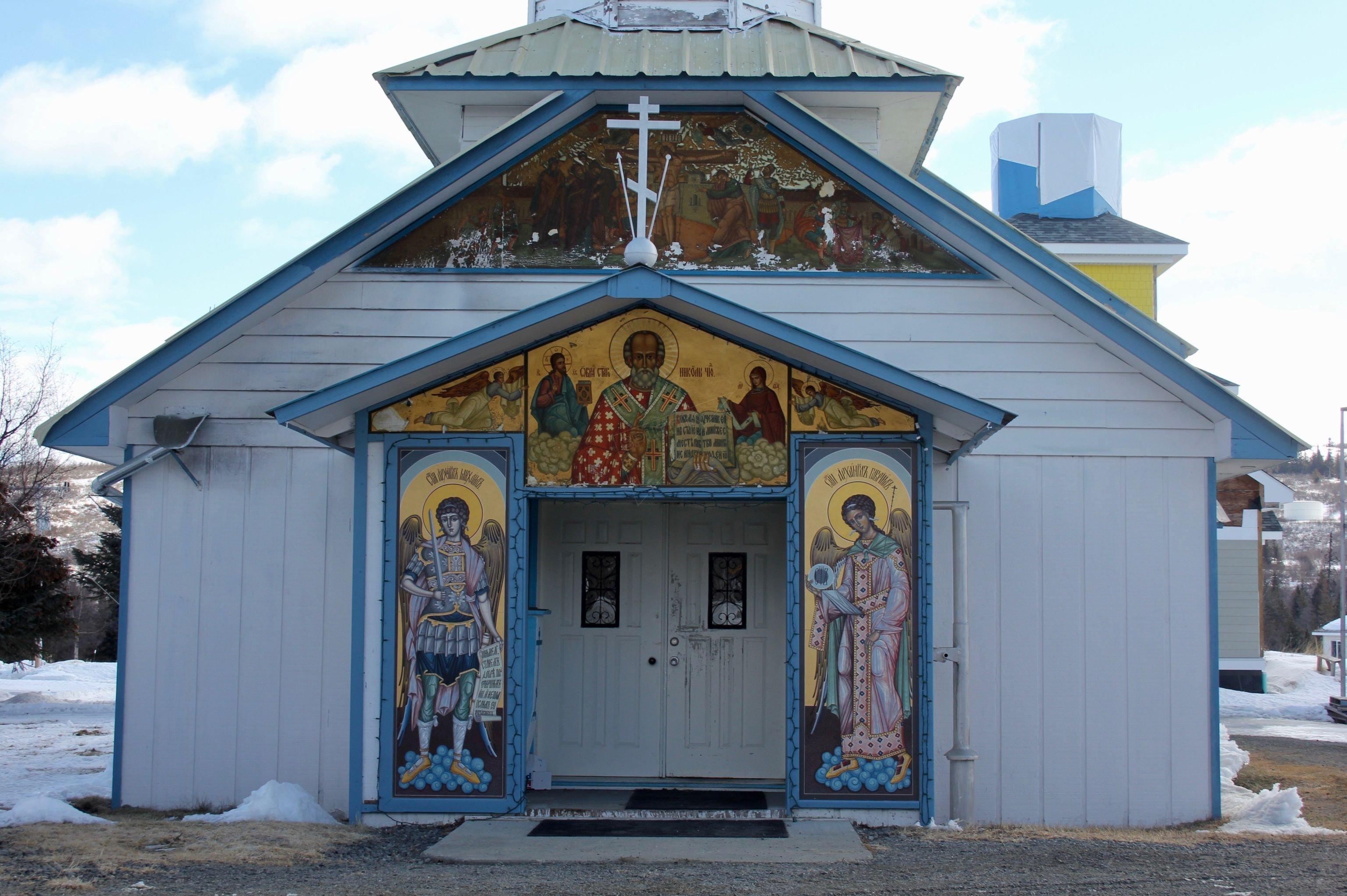 Neighborhoods of Nikolaevsk city, Alaska. © SPUTNIK/ TATYANA LUKYANOVA