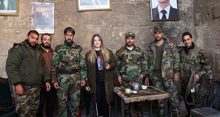 Maryana Naumova visits Syria