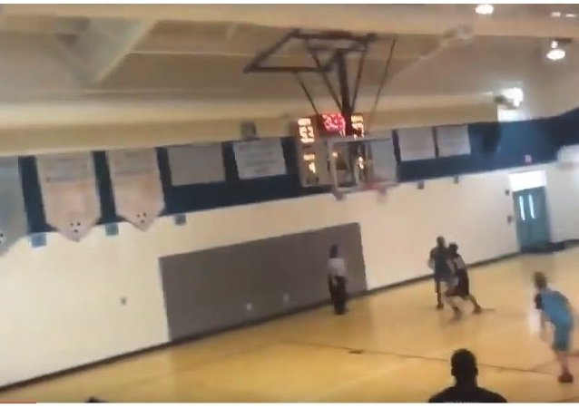 13 year old with no arms or prosthetics Jamarion Styles hits buzzer beater!