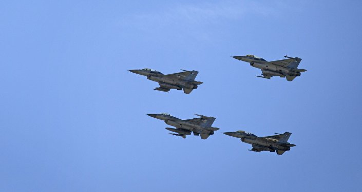 Jordanian Air Force fighter jets
