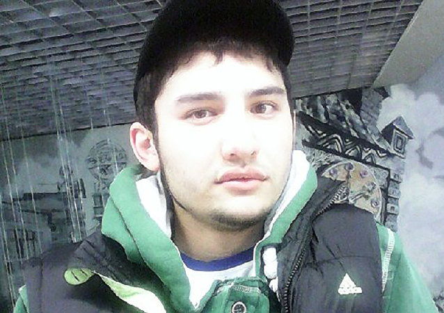 An undated handout picture sourced by a Russia's VK.com social network page shows Akbarjon Djalilov, an alleged suspect in the April 3 blast in the Saint Petersburg metro.