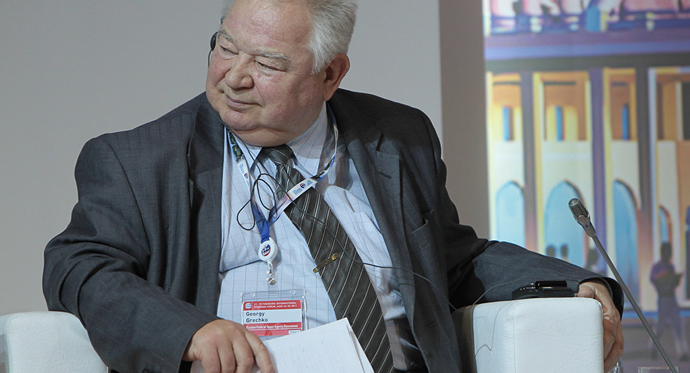 Soviet cosmonaut, twice Hero of the Soviet Union Georgi Grechko. (File)