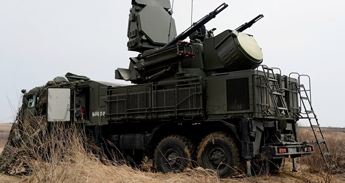The Pantsir-S1 short range missile and anti-aircraft artillery weapon system is involved in the integrated training on fire control and management of the Far Eastern Military District's Fifth Army at Sergeyevsky base in Primorye Territory. File photo