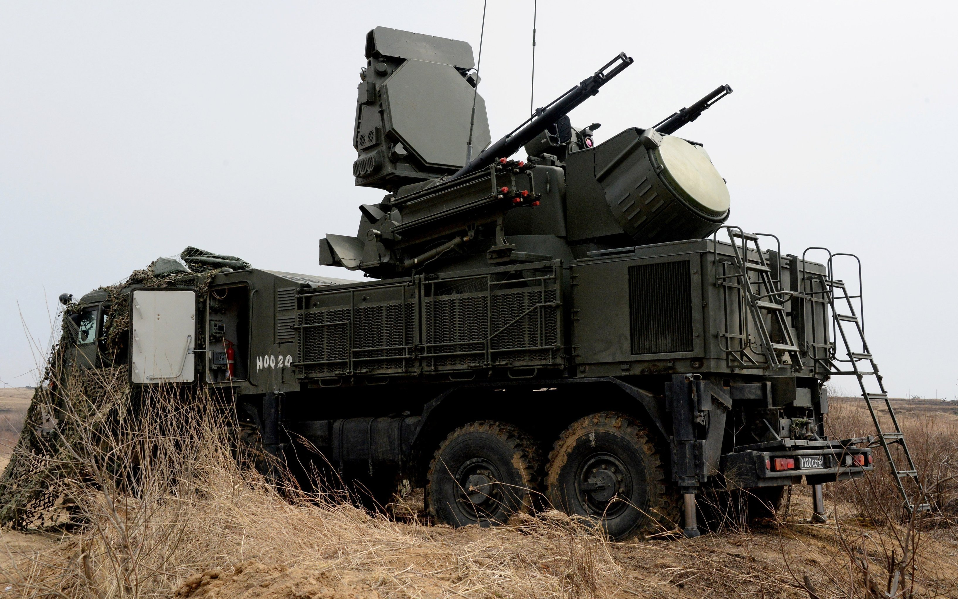 apon system is involved in the integrated training on fire control and management of the Far Eastern Military District's Fifth Army at Sergeyevsky base in Primorye Territory. File photo