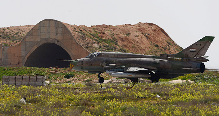 Syrian Air Forces resume flights from Shayrat Air Base