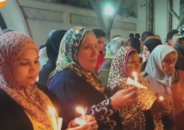 Egyptians Commemorate The Victims Of Church Attacks