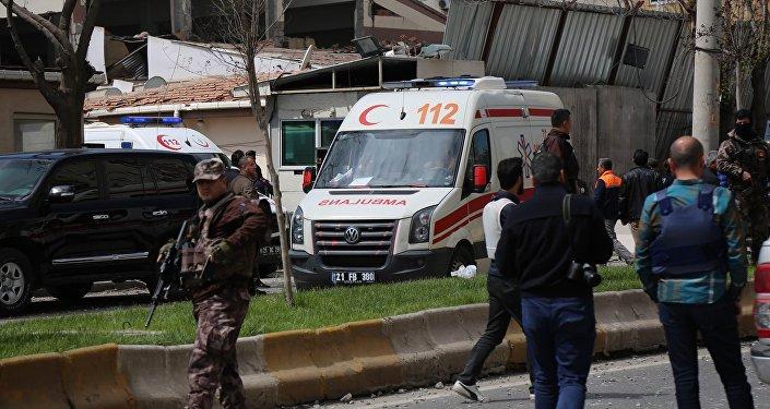 Explosion in Diyarbakir