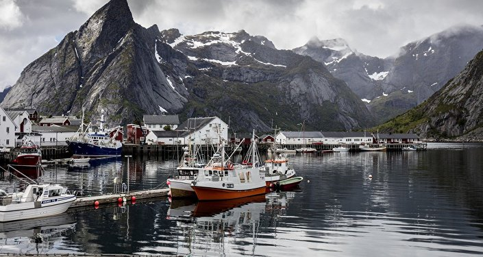 Lofoten Islands, Arctic Circle