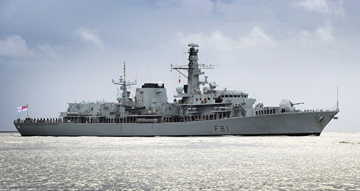 HMS Sutherland (F81), a type 23 frigate of the Royal Navy