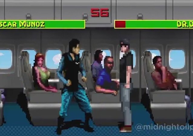 The New United Airlines Fighter Game
