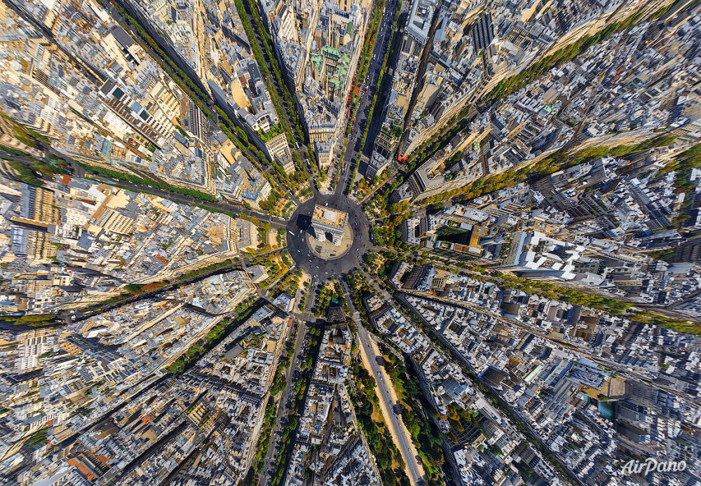 World From Above: A Bird's Eye View of the Most Interesting Locations