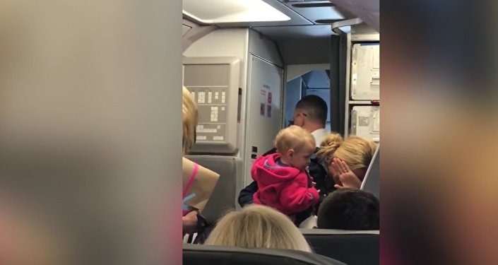 American Airlines Flight Attendant Altercation With Passenger, Friday 21st April 2017