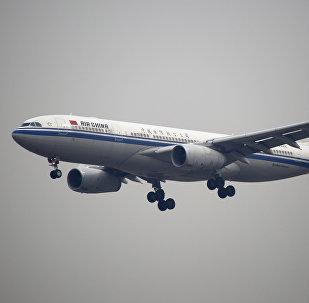 An Air China plane flies to Beijing Capital International Airport in Beijing, China (File)