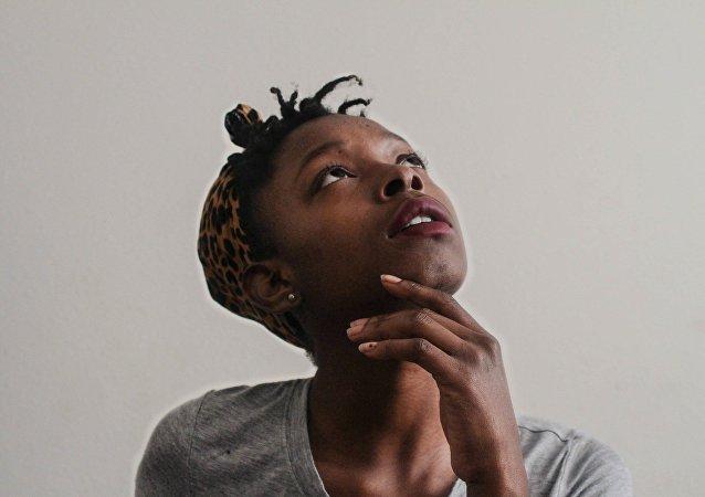 African-American woman