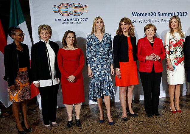 W20 Summit under the motto Inspiring women: scaling up women's entrepreneurship in Berlin