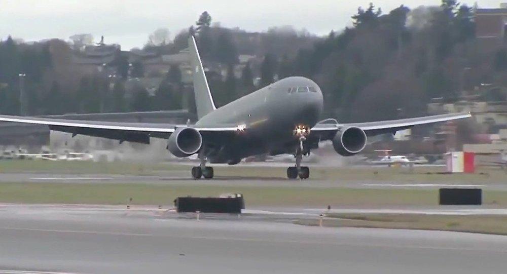 Boeing - KC-46A Pegasus Tanker Aircraft First Flight