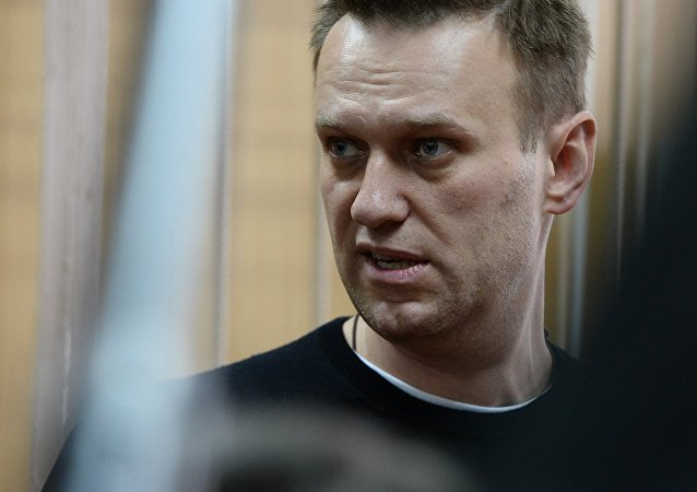 Court hears unauthorized rally case against Alexei Navalny