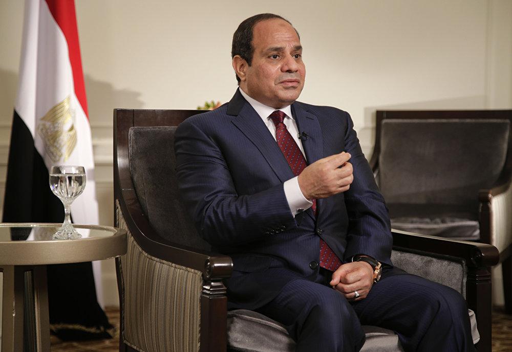 Egyptian President Abdel Fattah el-Sisi