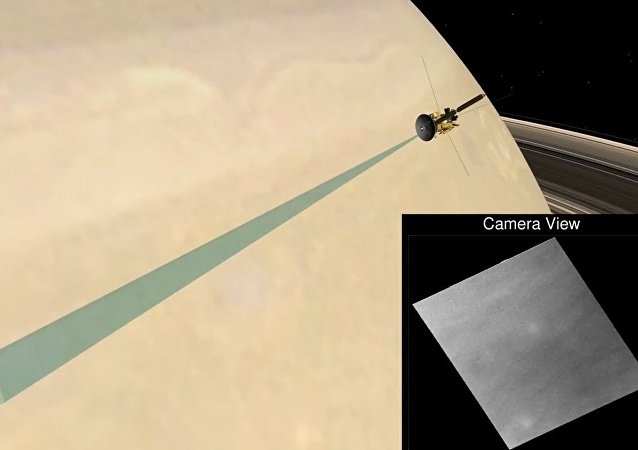 NASA: Cassini's First Fantastic Dive Past Saturn