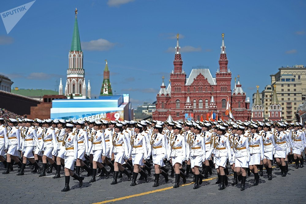 Russia's Victory Day Parade Marred by Thick Clouds