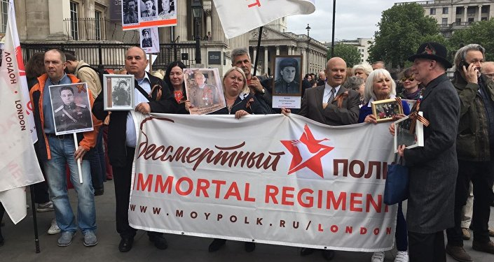 The Immortal Regiment march in London, 2017