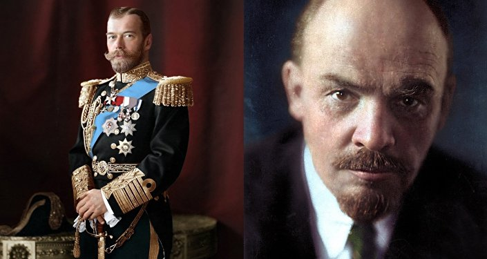Nicholas II / Lenin