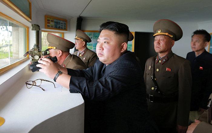 North Korea's Kim Reportedly Orders More ICBM Parts Amid Tensions